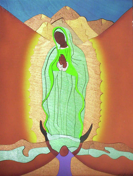 Painting - Our Lady Of Guadalupe by Fred Gardner