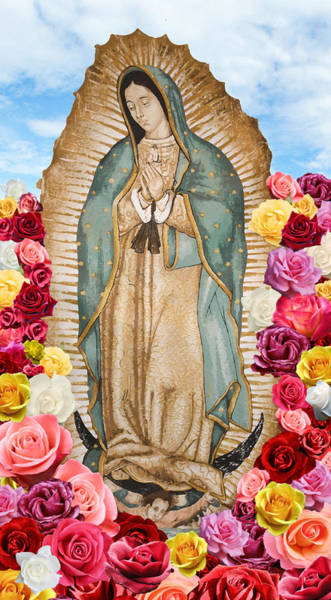 Digital Art - Our Lady Of Guadalupe by Nancy Ingersoll