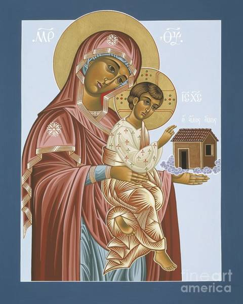 Painting - Our Lady Of Loretto 033 by William Hart McNichols
