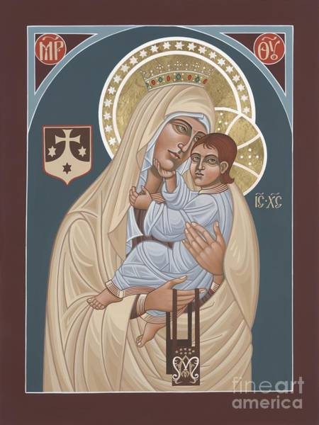 Painting - Our Lady Of Mt. Carmel 255 by William Hart McNichols