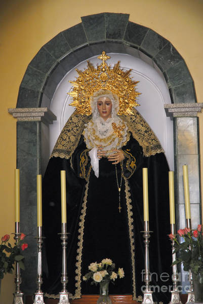 Photograph - Our Lady Of Sorrows In Spain by Brenda Kean