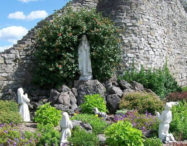 Photograph - Our Lady Of The Woods Shrine Lll by Michelle Calkins