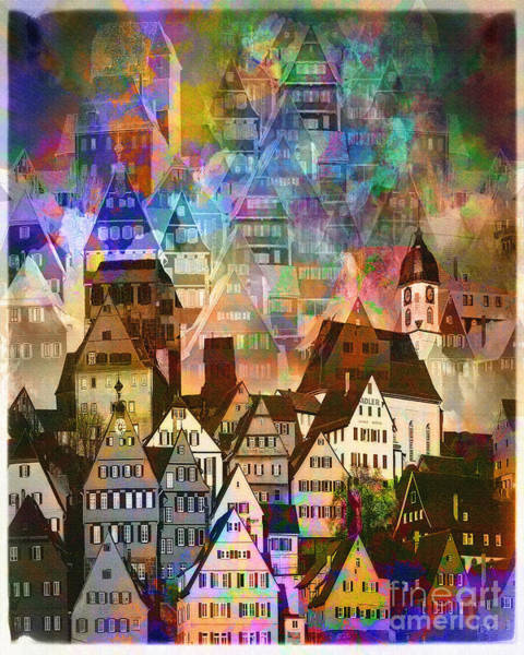 Our Old Town Art Print