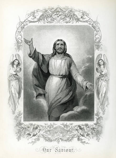 Wall Art - Photograph - Our Saviour  1873 by Daniel Hagerman