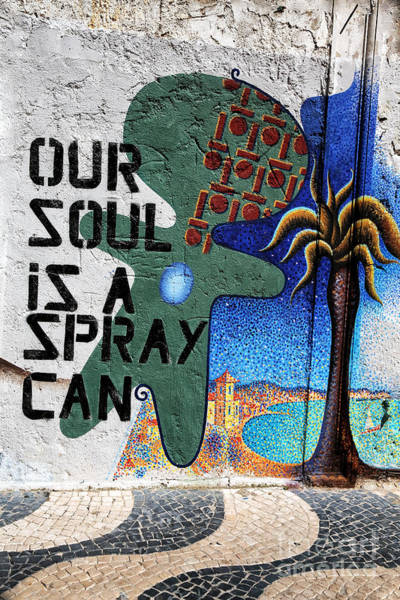 Photograph - Our Soul Is A Spray Can by John Rizzuto