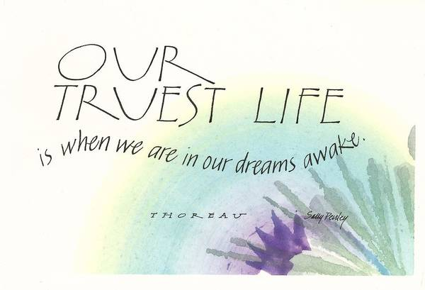Painting - Our Truest Life by Sally Penley