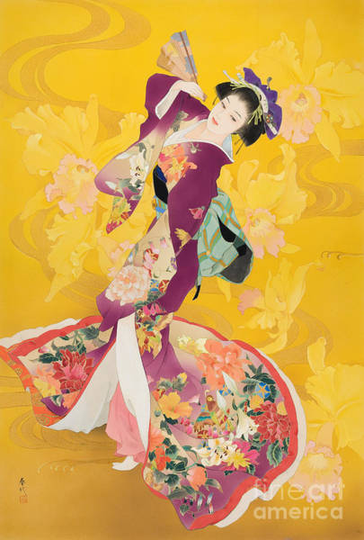 Kimono Digital Art - Ouran by MGL Meiklejohn Graphics Licensing