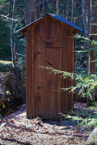Toilet Photograph - Ourdoor Privy 1 by Douglas Barnett