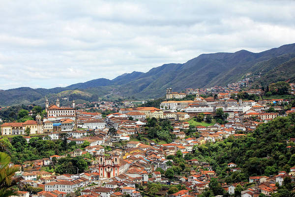 Minas Gerais Wall Art - Photograph - Ouro Preto by Antonello