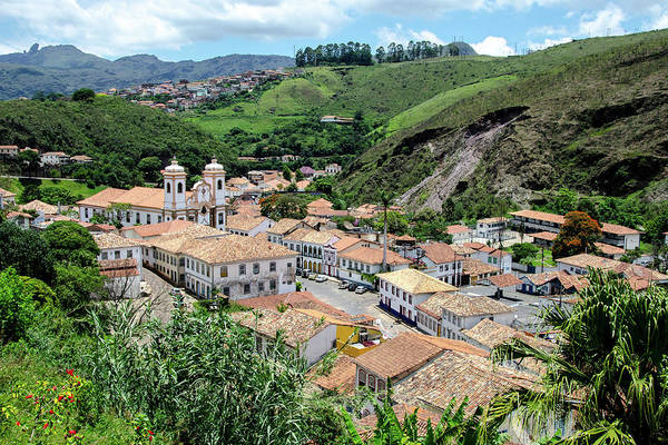 Minas Gerais Wall Art - Photograph - Ouro Preto E Igreja Matriz Nossa by Alexandre Dias