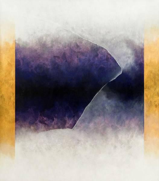 Merge Painting - Ouroboros Three Blue, 2010 by Mathew Clum
