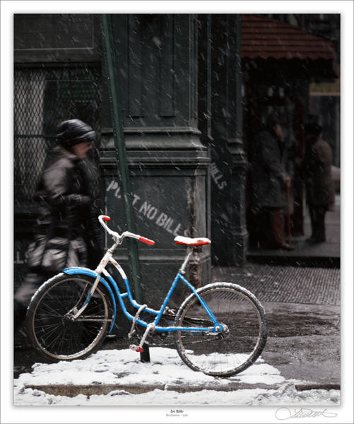Wall Art - Photograph - Out For An Ice Ride by Lar Matre