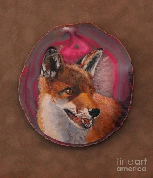 Painting - What Does The Fox Say? by Bob Williams