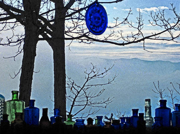 Photograph - Out My Morning Window Painted by Lara Ellis