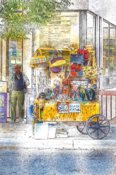 Asheville Mixed Media - Out Of Africa by John Haldane