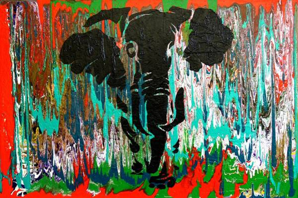 Painting - Out Of Africa by Nan Bilden