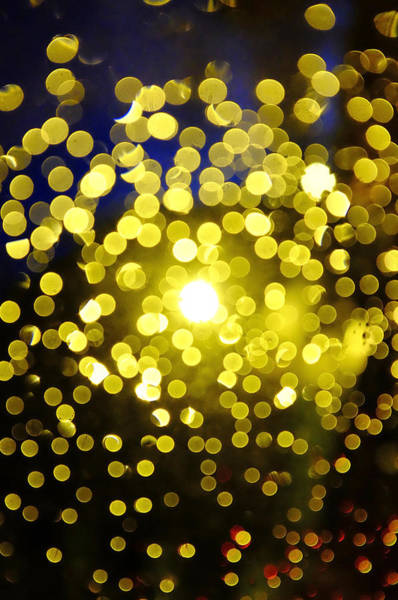 Photograph - Out Of Focus Lights by Fabrizio Troiani