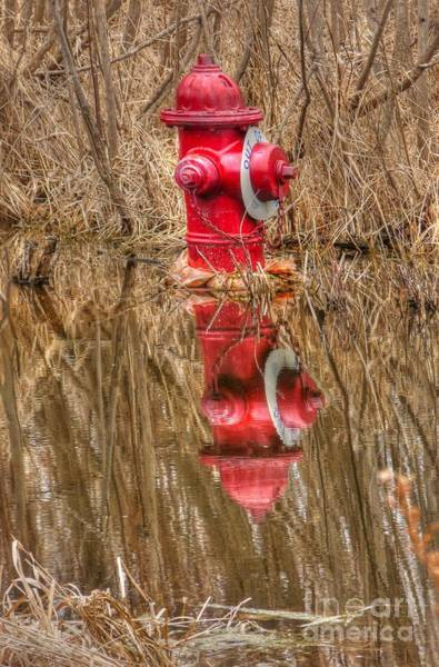 Water Hydrant Photograph - Out Of Service by David Bearden