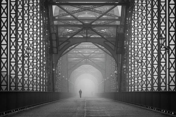 Tunnel Photograph - Out Of The Mist by Alexander Sch?nberg