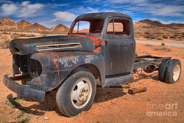 Photograph - Out Of Work At Rhyolite by Adam Jewell