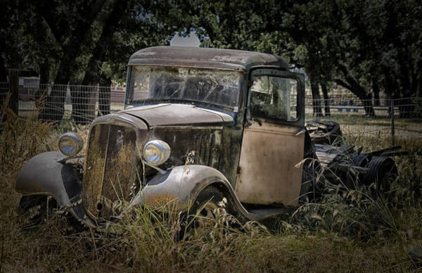 Rusty Truck Digital Art - Out To Pasture by Patricia Stalter
