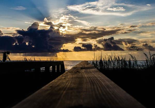 Photograph - Out To Sea by Tyson Kinnison