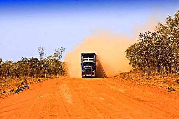 Photograph - Outback Road Train by David Rich
