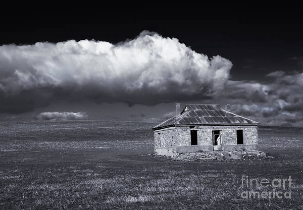 Wall Art - Photograph - Outback Ruin by Mike  Dawson