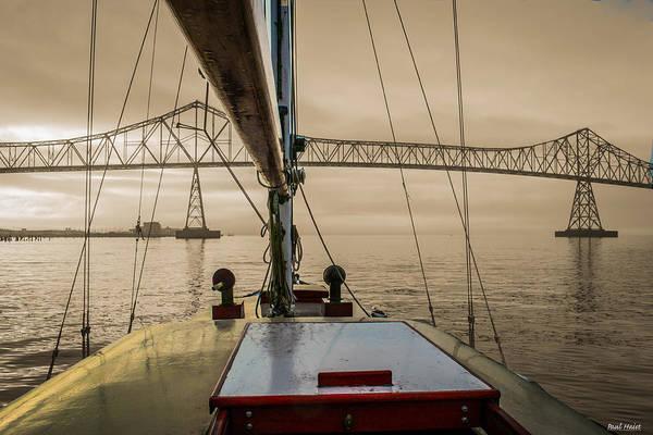 Astoria Bridge Photograph - Outbound Astoria by Paul Haist