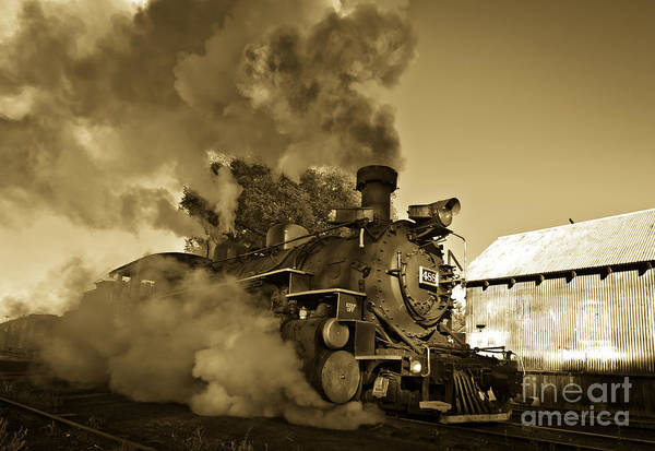 Chama Photograph - Angry Iron Horse by Robert Frederick