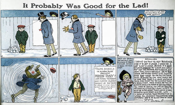 Bully Painting - Outcault Comic Strip, C1914 by Granger