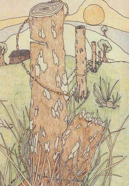 Drawing - Outdoors by Jason Girard