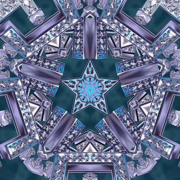 Digital Art - Outer Helix by Derek Gedney