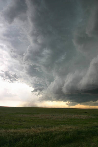 Photograph - Outflow Winds From Supercell by Jason Persoff Stormdoctor