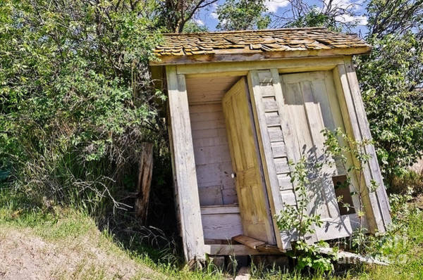 Photograph - Outhouse For Two by Sue Smith
