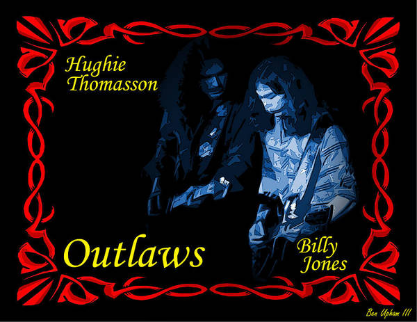 Photograph - Outlaws Billy Jones And Hughie Thomasson by Ben Upham