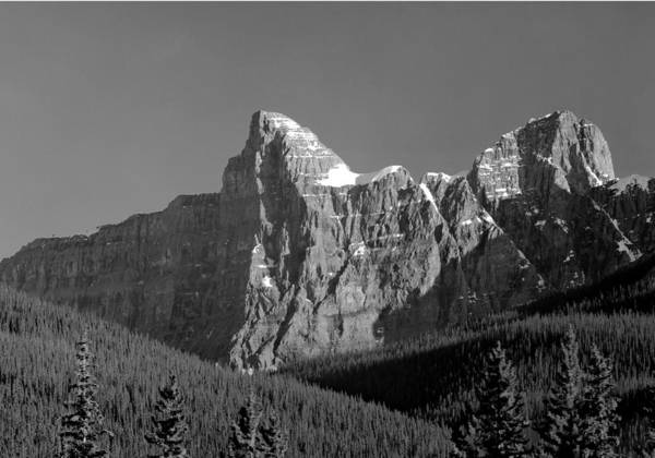 Photograph - 1m3621-bw-outlier Of  Mt. Murchison  by Ed  Cooper Photography