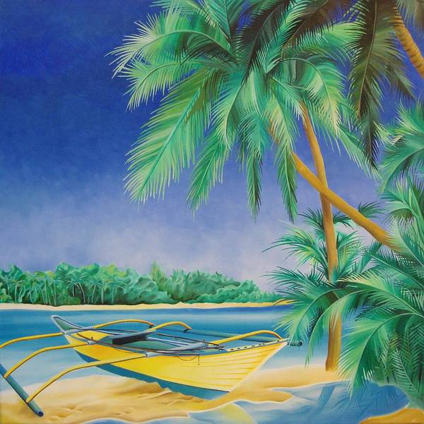 Painting - Outrigger by William Love