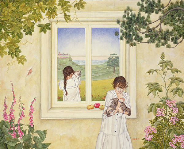 Foxglove Photograph - Outside Out Times Julie, 1988 by Ditz