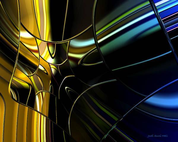 Digital Art - Outside The Window by Judi Suni Hall