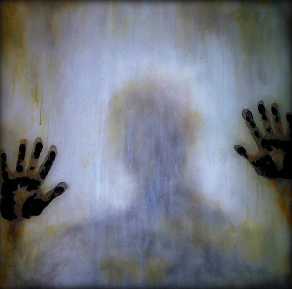Hand Made Painting - Outsider by Lilia D