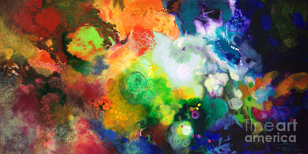 Star Formation Painting - Outward Bound by Sally Trace