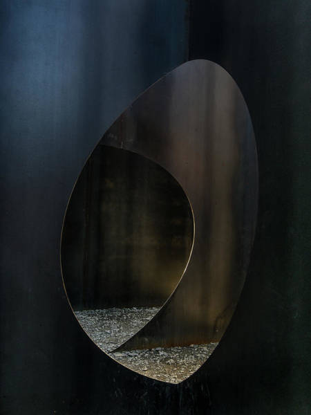 Wall Art - Photograph - Oval Steel by Luc Vangindertael (lagrange)