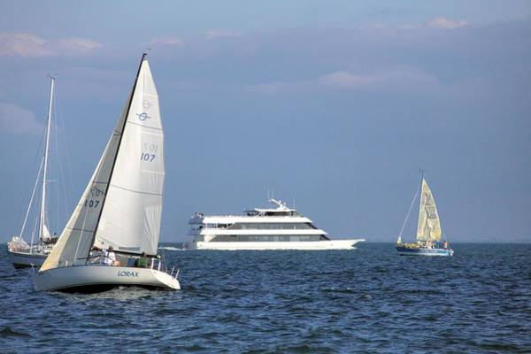 Grosse Pointe Farms Photograph - Ovation Dinner Cruise by Kathy Wesserling