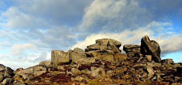 Peak District National Park Photograph - Over Owler Tor - Peak District by Kev Hill