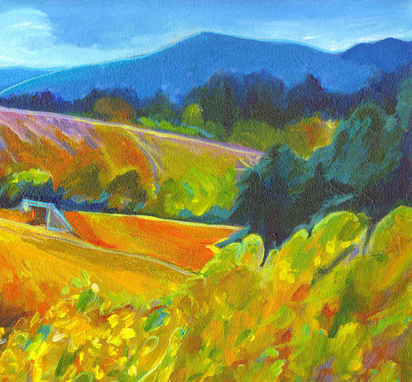 Painting - Over The Hills And Far Away by Tanya Filichkin