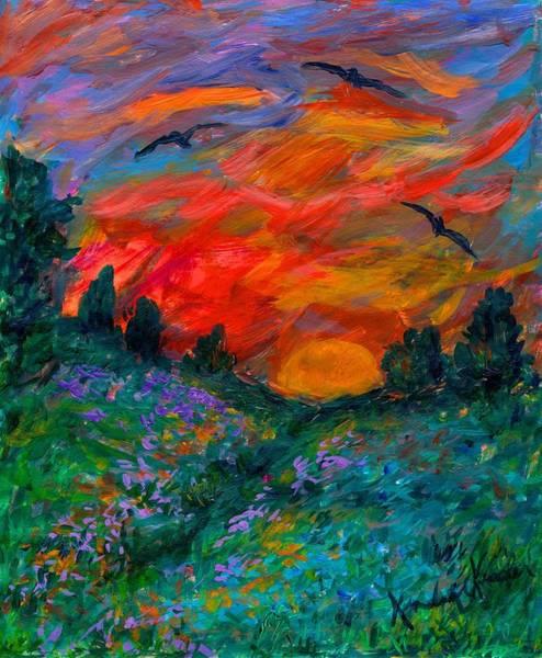 Painting - Over The Light by Kendall Kessler