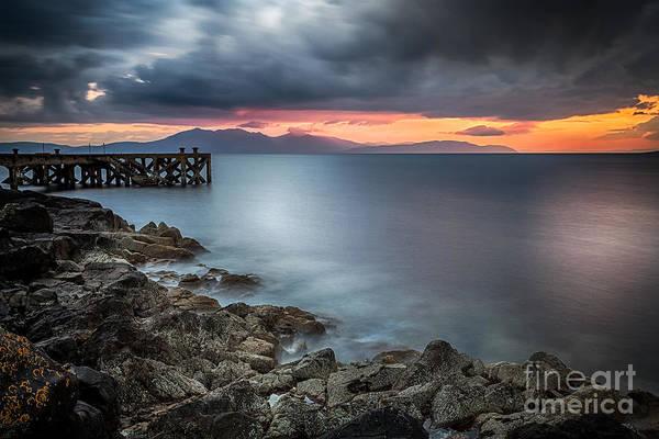 Ayrshire Photograph - Over The Sea by John Farnan