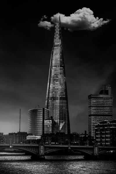 Spikes Photograph - Over The Shard by Jackson Carvalho