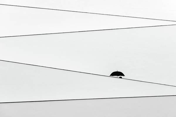 Minimalistic Photograph - Over There, It's Raining by Fernando Correia Da